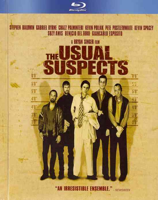 USUAL SUSPECTS (LIMITED EDITION) BY BALDWIN,STEPHEN (Blu-Ray)